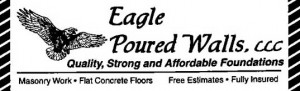 Eagle-poured-walls