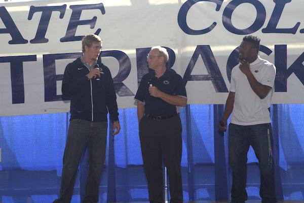 Ohio State: Players; Tommy Stevens, Jason Cabinda Coach: James Franklin Sponsor: Kissinger Bigatel & Brower Realtors Photos by Joe Rokita / JoeRokita.com